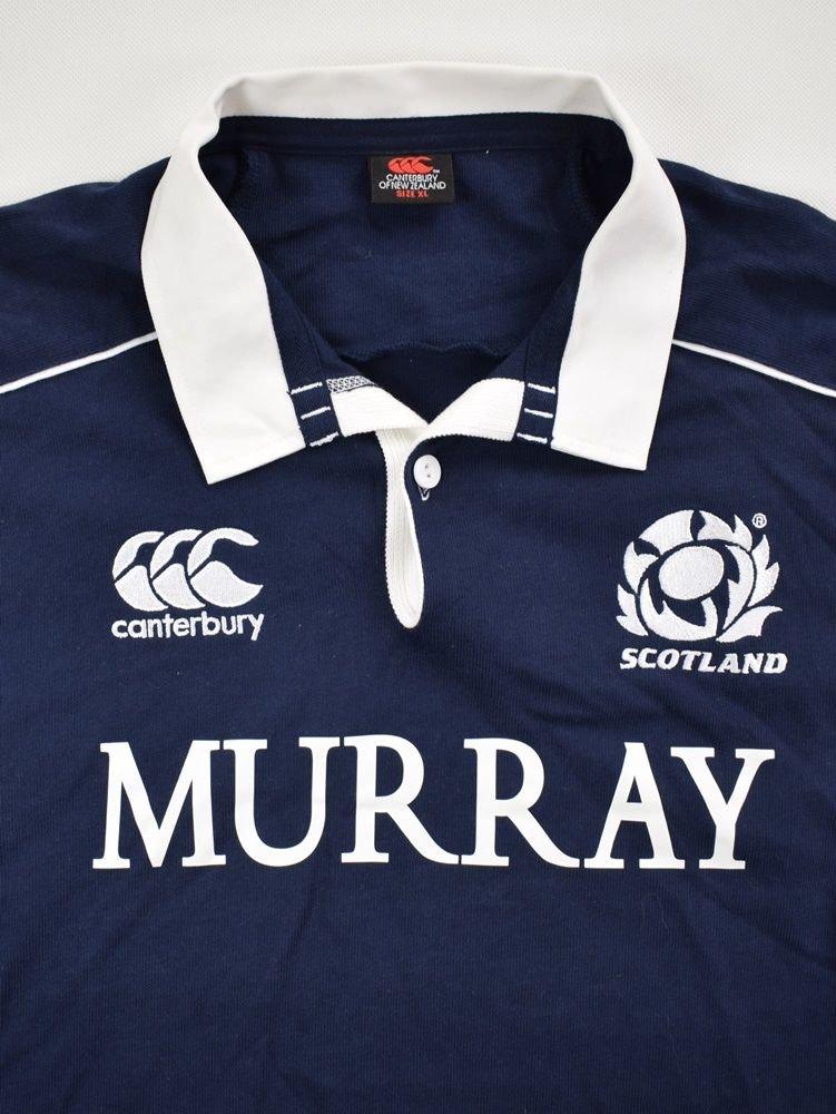 d172a28b870 SCOTLAND RUGBY CANTERBURY LONGSLEEVE SHIRT XL Rugby \ Rugby Union ...