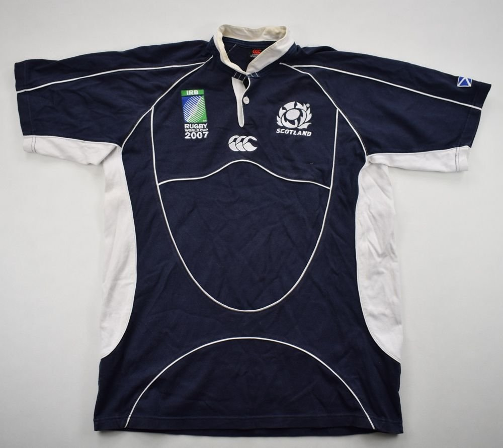 8579ce37c91 SCOTLAND RUGBY CANTERBURY SHIRT L Rugby \ Rugby Union \ Scotland | Classic- Shirts.com