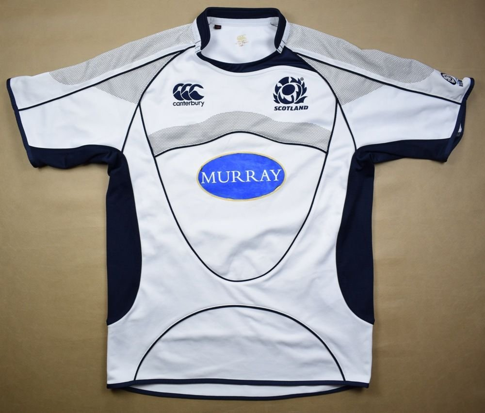 8579ce37c91 SCOTLAND RUGBY CANTERBURY SHIRT L Rugby \ Rugby Union \ Scotland | Classic- Shirts.com