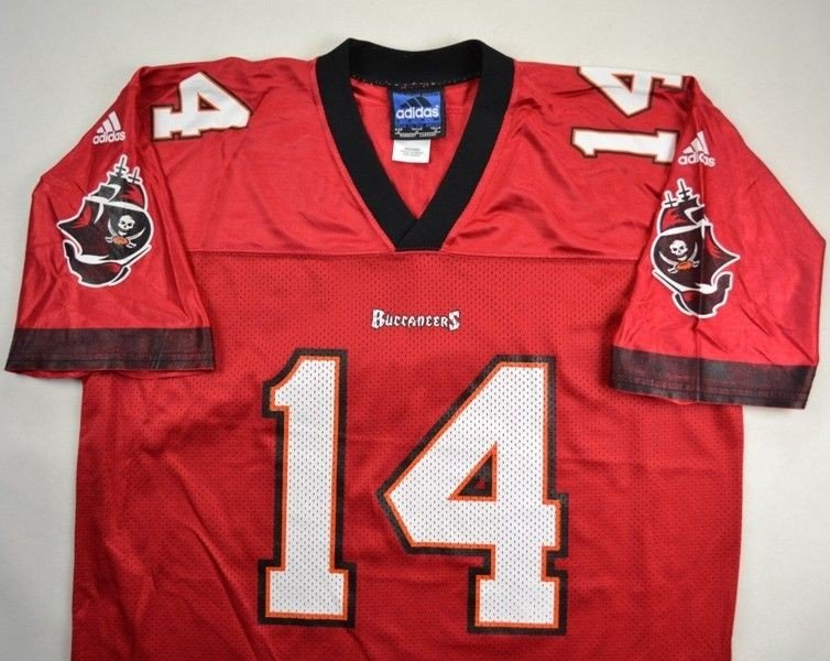 TAMPA BAY BUCCANEERS NFL  B.JOHNSON  ADIDAS SHIRT M Other Shirts   American  Football  7fd97fc5f