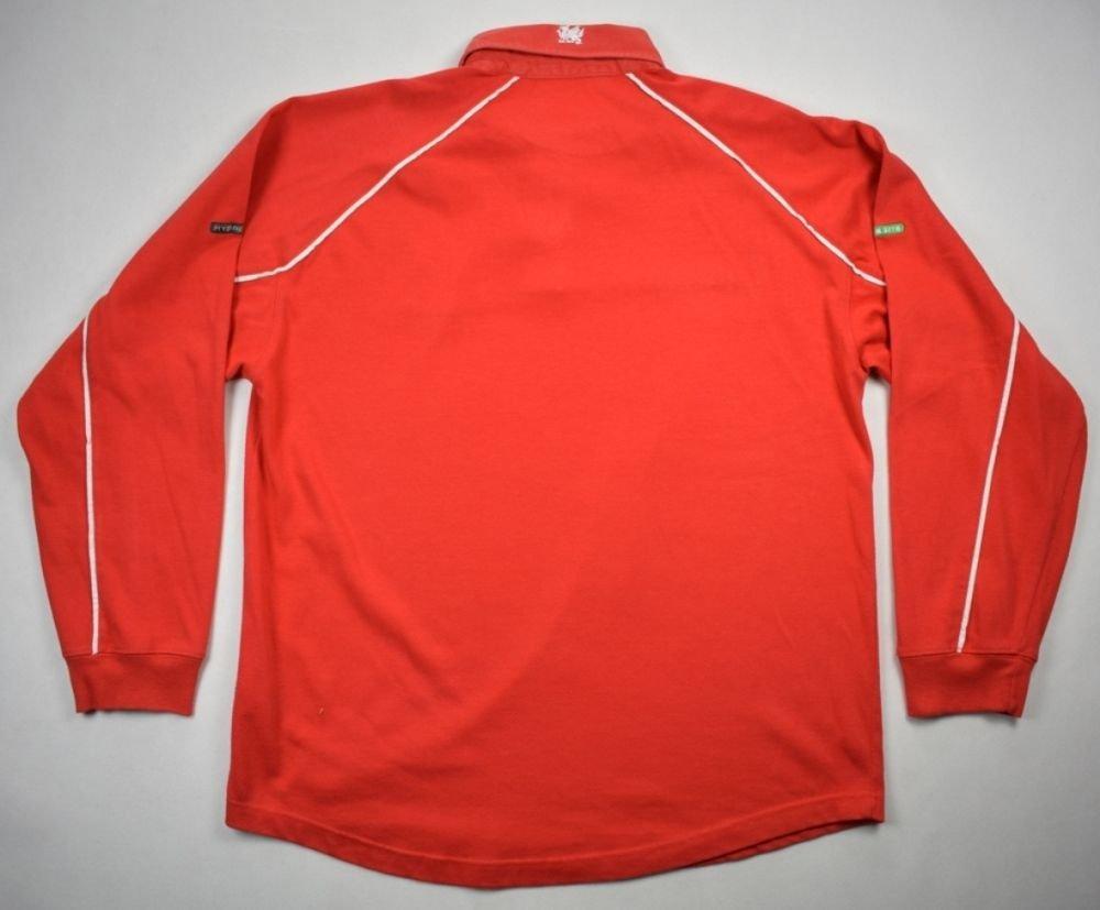 4e17ef3b266 Wales Rugby Shirt Long Sleeve Classic - DREAMWORKS