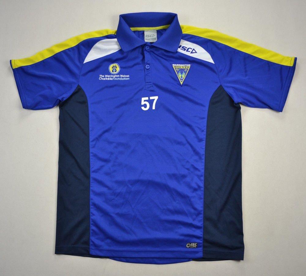4f78a5b3bc3 WARRINGTON WOLVES RUGBY ISC SHIRT M Rugby \ Rugby League \ Warrington Wolves    Classic-Shirts.com