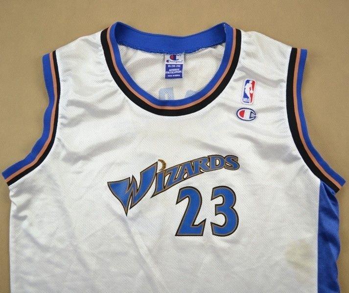 designer fashion adb37 70c74 WASHINGTON WIZARDS *JORDAN* NBA CHAMPION SHIRT XL