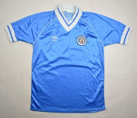 sports shoes 64a8c be04f 1981-82 MANCHESTER CITY SHIRT S