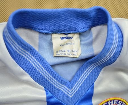 1987-88 COLCHESTER UNITED SHIRT SIZE 30-32