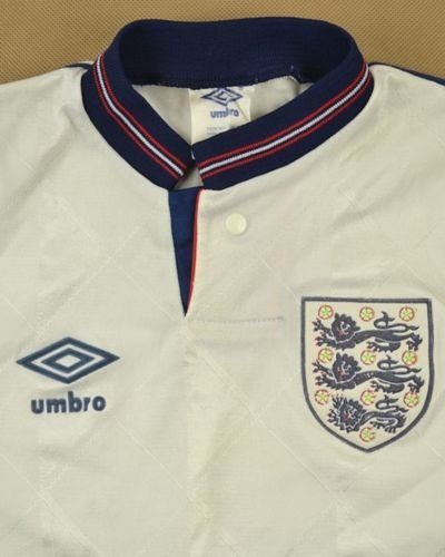 1987-90 ENGLAND SHIRT S. BOYS