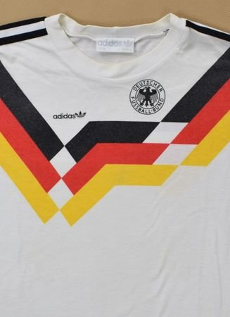 1988-90 GERMANY COTTON SHIRT S