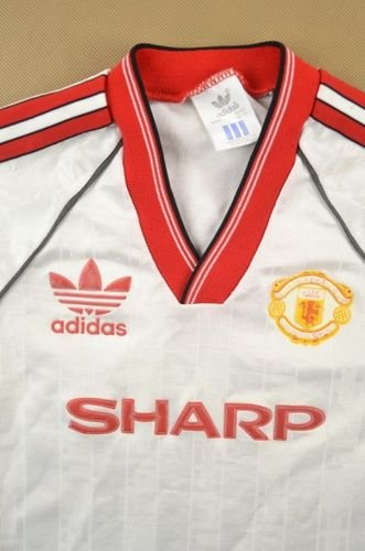 1988-90 MANCHESTER UNITED SHIRT SIZE 5/6 YEARS