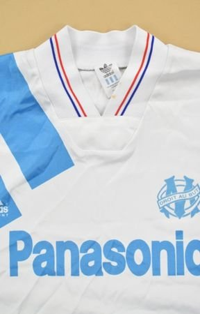 1991-92 OLYMPIQUE MARSEILLE SHIRT XL
