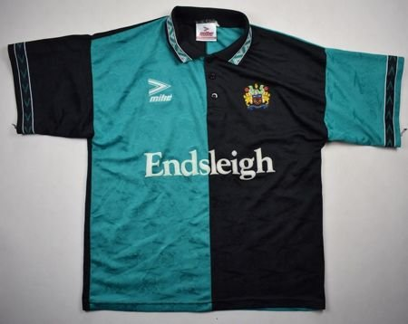 1993-95 BURNLEY SHIRT L
