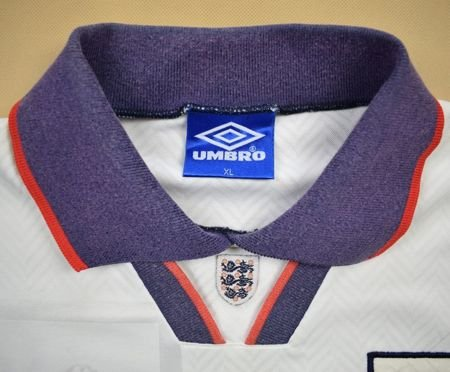 1993-95 ENGLAND SHIRT XL