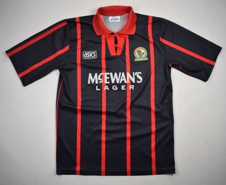 1994-95 BLACKBURN ROVERS SHIRT M