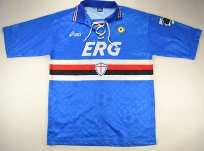 1994-95 SAMPDORIA SHIRT L
