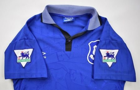 1995-97 EVERTON SHIRT L. BOYS