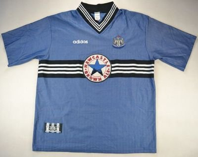 1995-97 NEWCASTLE UNITED SHIRT XXL