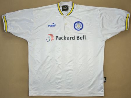 1996-98 LEEDS UNITED SHIRT L