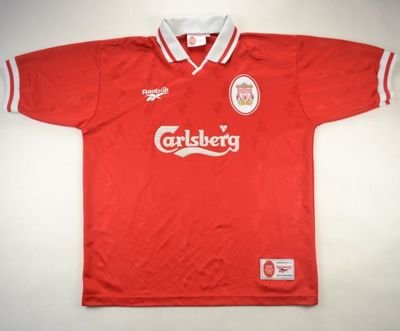 1996-98 LIVERPOOL SHIRT XL