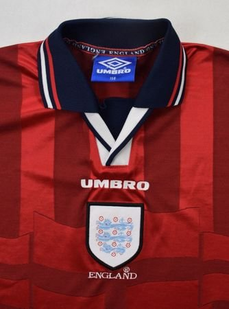 1997-99 ENGLAND SHIRT L. BOYS