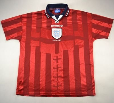 1997-99 ENGLAND SHIRT XL
