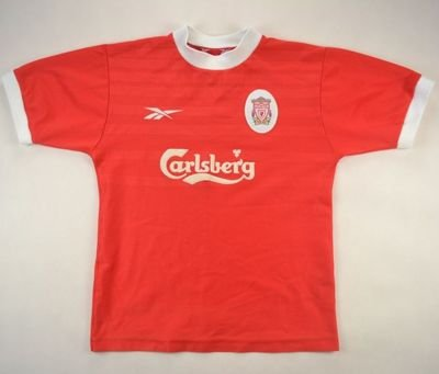 1997-99 LIVERPOOL SHIRT L. BOYS