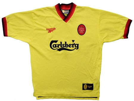 1997-99 LIVERPOOL SHIRT XL
