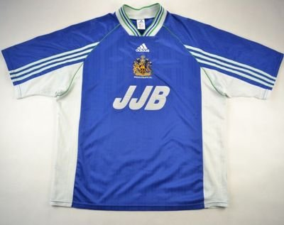 1998-00 WIGAN ATHLETIC SHIRT XL
