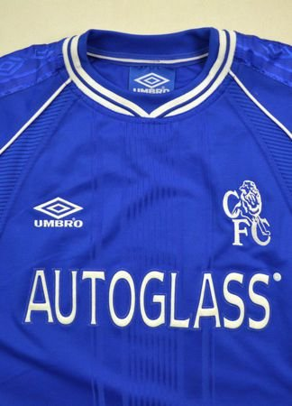 1999-01 CHELSEA LONDON SHIRT XL
