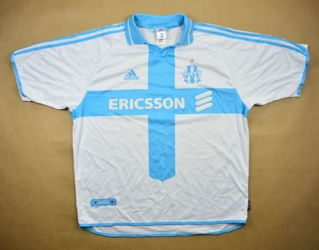 2000-01 OLYMPIQUE MARSEILLE SHIRT XL