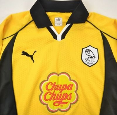 2000-01 SHEFFIELD WEDNESDAY SHIRT S