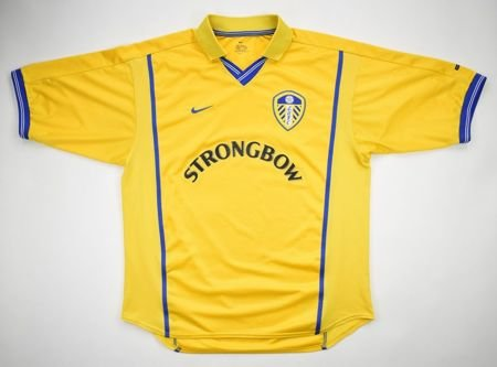 2000-02 LEEDS UNITED SHIRT L