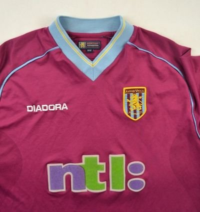 2001-02 ASTON VILLA SHIRT M