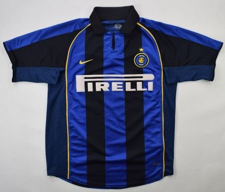 2001-02 INTER MILAN *VIERI* SHIRT S