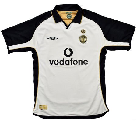 2001-02 MANCHESTER UNITED SHIRT L