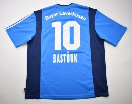 2001-03 BAYER LEVERKUSEN *BASTURK* SHIRT XL