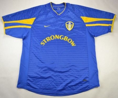 2001-03 LEEDS UNITED SHIRT L