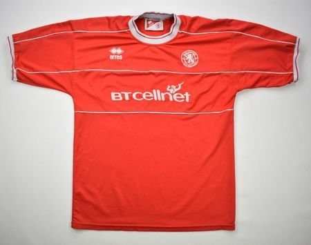 2001-2002 MIDDLESBROUGH SHIRT M