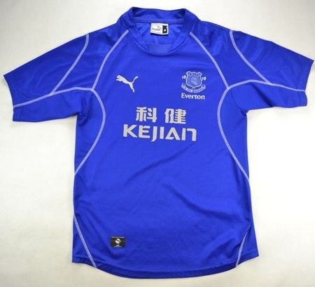 2002-03 EVERTON SHIRT M