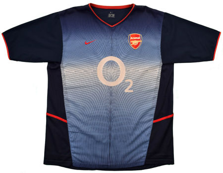 2002-04 ARSENAL LONDON SHIRT SIZE 7/8 YEARS