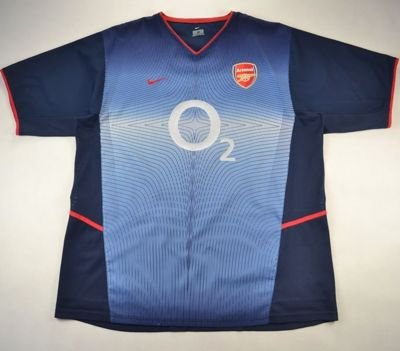 2002-04 ARSENAL LONDON SHIRT XL