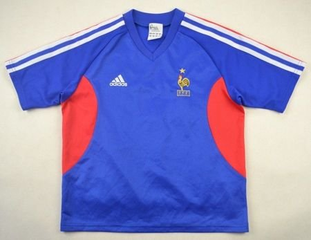 2002-04 FRANCE *ZIDANE* SHIRT M. BOYS