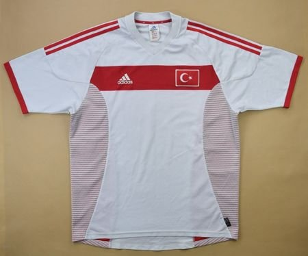 2002-04 TURKEY SHIRT L