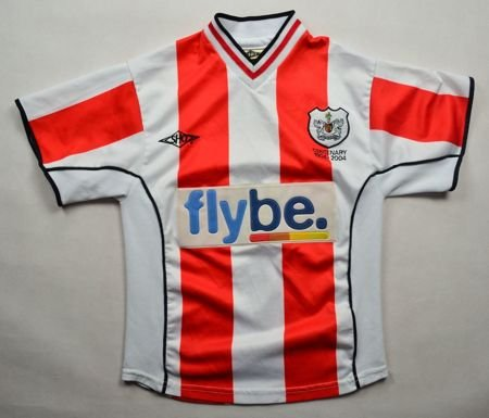2003-04 EXETER CITY SHIRT S. BOYS