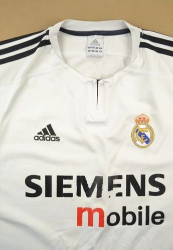 2003-04 REAL MADRID SHIRT L