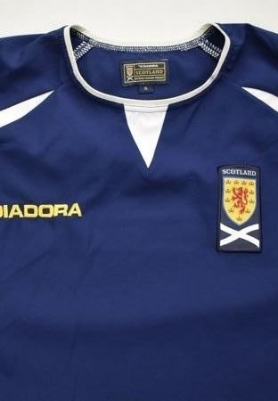 2003-05 SCOTLAND SHIRT XL