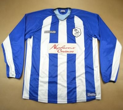 2003-05 SHEFFIELD WEDNESDAY *MCGOVERN* SHIRT L