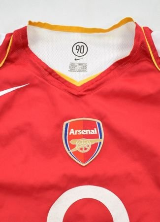 2004-05 ARSENAL LONDON SHIRT S