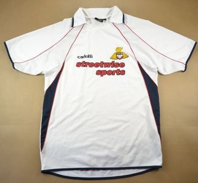 2004-05 DONCASTER ROVERS FC SHIRT M