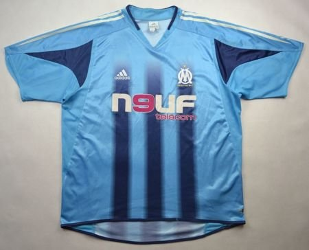 2004-05 OLYMPIQUE MARSEILLE SHIRT XL