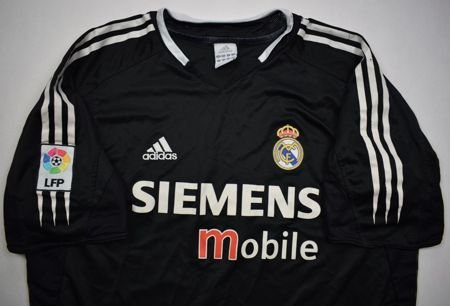 2004-05 REAL MADRID SHIRT XL