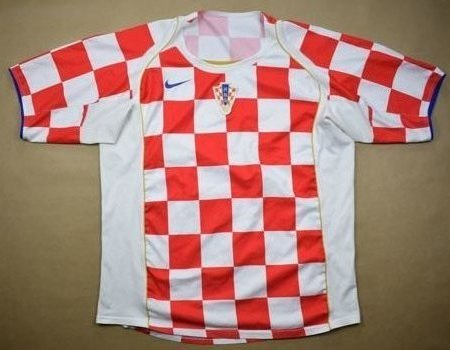 2004-06 CROATIA SHIRT XL